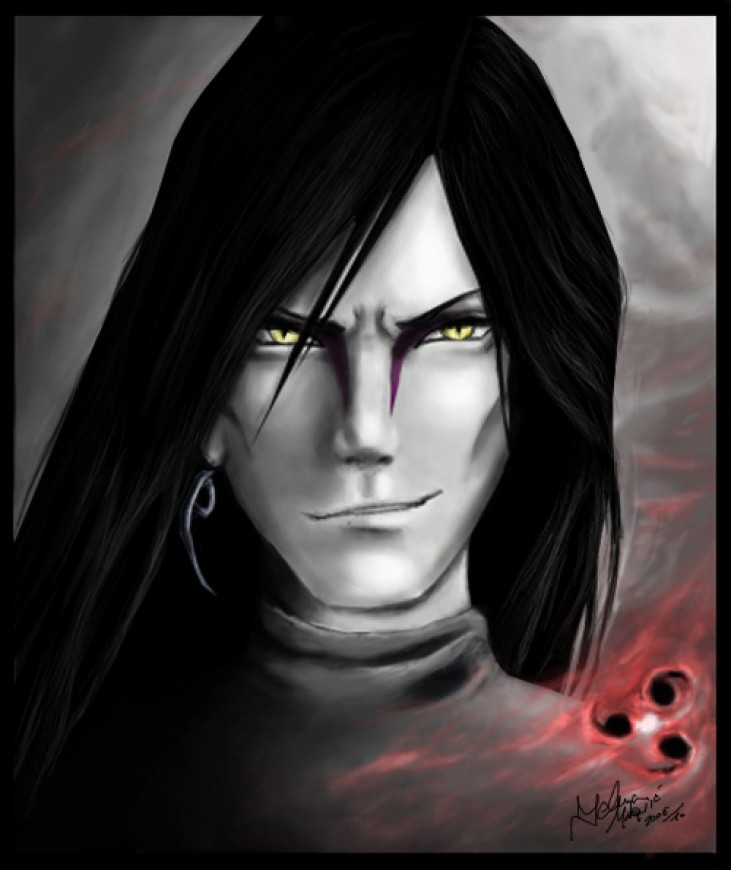 Digital painting Orochimaru